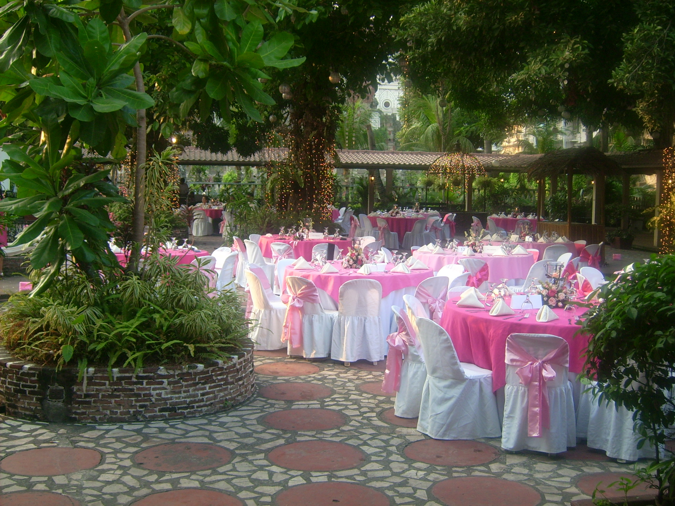 Garden wedding ideas in the philippines photograph beautif beautiful garden wedding reception area in the philippines junglespirit Gallery